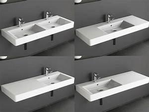 Unterschrank Mit Waschbecken : design keramik waschtisch 120 cm waschbecken ~ A.2002-acura-tl-radio.info Haus und Dekorationen