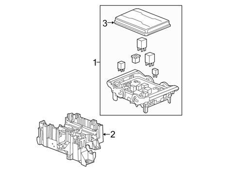 Chevrolet Volt Electrical Block Diagram by 23200659 General Motors Junction Block Bracket Engine