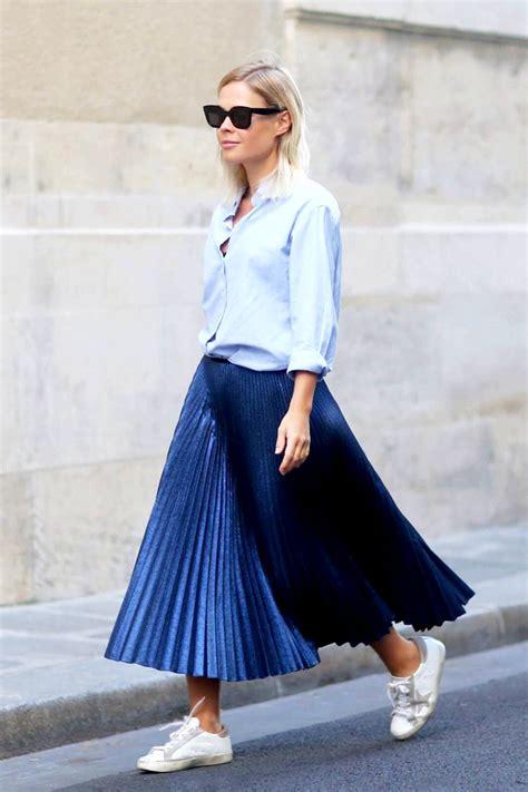 asymmetrical striped skirt how to wear a pleated skirt ideas 2017 melonkiss