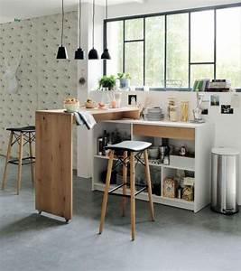 Bar De Cuisine Pas Cher : d couvrez nos 84 jolies propositions pour cuisine avec bar ~ Premium-room.com Idées de Décoration