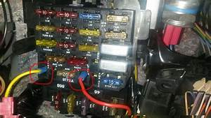 Fuse Box  Accidently Removed Fuse