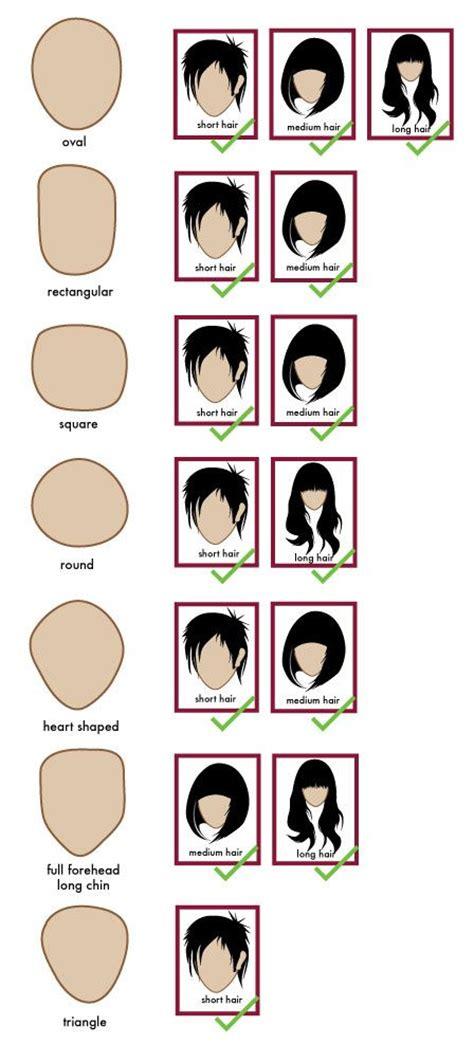 general face shapes hair pinterest hair hair styles