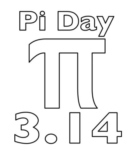 pi day coloring sheets pi day math