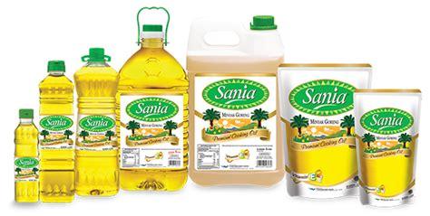 sell cooking sania from indonesia pt jaya nusantara