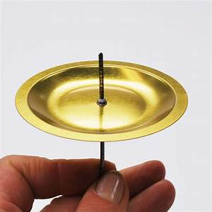 Kerzenhalter Mit Dorn Zum Stecken : kerzenteller mit dorn in gold 7cm 4stk g nstig kaufen ~ Orissabook.com Haus und Dekorationen