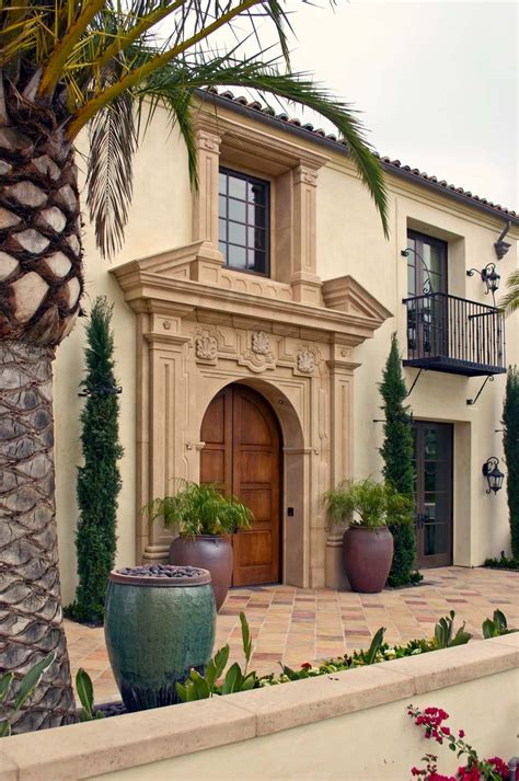 andalusian homes mediterranean tuscan architecture spanish architects cove crystal oatman residence villa colonial facade discover