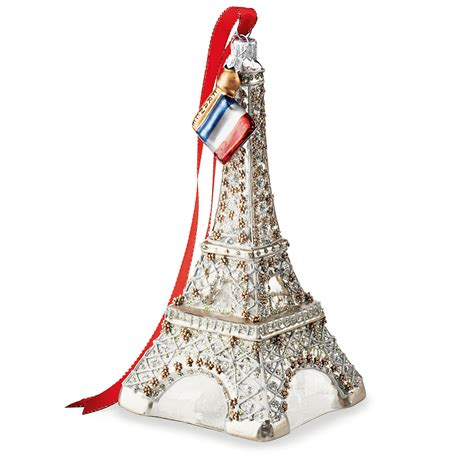 eiffel tower christmas ornament gump s