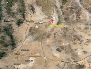 Trona Pinnacles California Map