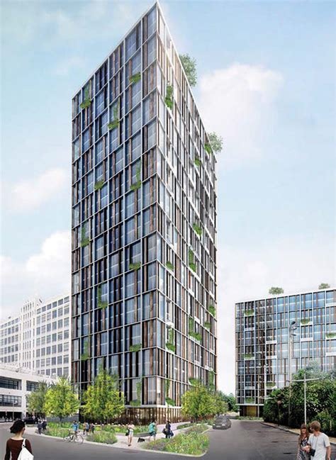 Pier Street Medical by Fourteen Tower Proposals Unveiled For Controversial