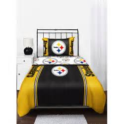 nfl pittsburgh steelers bedding comforter walmart com