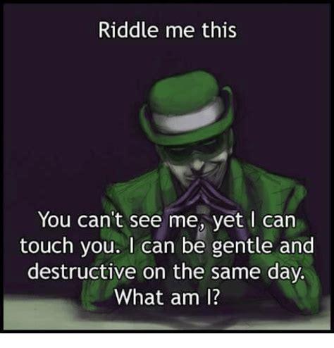 Riddler Meme Riddle Memes Of 2016 On Sizzle 9gag