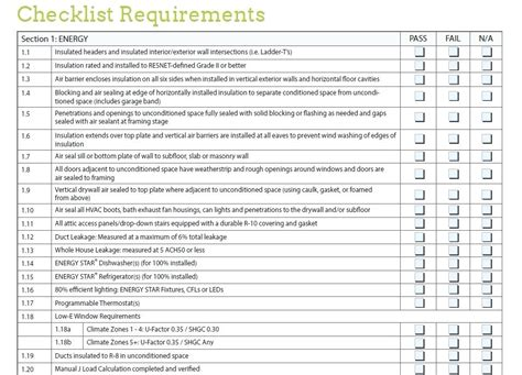 home design checklist new construction home inspection checklist new