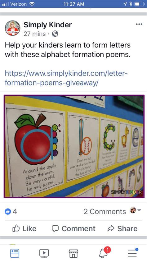 forming letter chants education math kindergarten