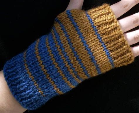 ravenclaw colors ravenclaw color fade wrist warmers knitting