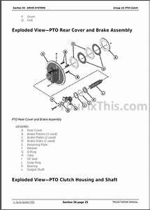 John Deere 9230 9330 9430 9530 9630 Repair Manual