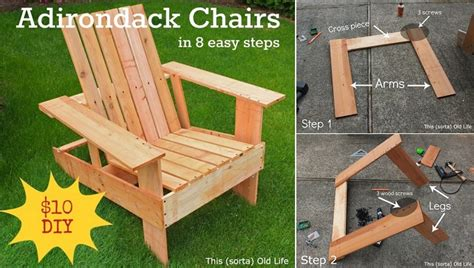 diy adirondack chair in 8 easy steps home design garden