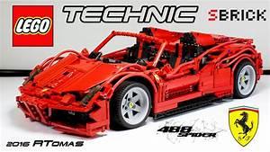 Lego Technic Ferrari : moc lego technic ferrari f488 spider 2016 with sbrick youtube ~ Maxctalentgroup.com Avis de Voitures