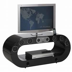 meuble tv avec home cinema integre systemes home cinema With meuble tv enceinte integre leclerc