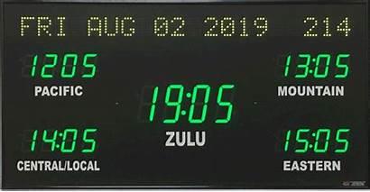 Zone Digital Clocks Clock Brg User Displays