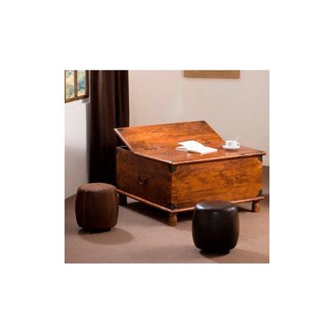table basse coffre table basse coffre acacia meubles macabane meubles et