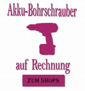Kosmetik Auf Rechnung : akku bohrschrauber auf rechnung ~ Themetempest.com Abrechnung