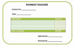 Ms Office Coupon Payment Voucher Template
