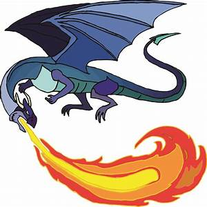 Fire Breathing Dragon Picture - Cliparts.co
