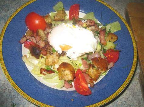 recette cuisine lyonnaise recettes de salade lyonnaise