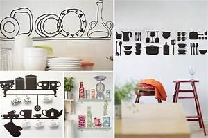 Deko Küche Wand : bilder fur kuche wanddeko ideen design ~ Whattoseeinmadrid.com Haus und Dekorationen