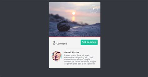 cool css card ui examples web graphic design bashooka