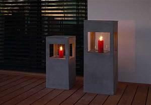 Windlichter Aus Beton Gießen : stimmungsvoll windlichter aus fiberglas in steinoptik und beton pflanzk bel blog von ae trade ~ Orissabook.com Haus und Dekorationen