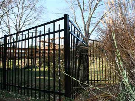 Backyard Fence Company by Aluminum Backyard Fencing Bryant Fence Company