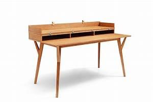 Bureau Design Scandinave : bureau design scandinave en bois et convertible emme dewarens ~ Teatrodelosmanantiales.com Idées de Décoration