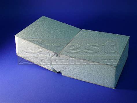 insulated roof  deck panels crest aluminum products   insulated roof  deck panels