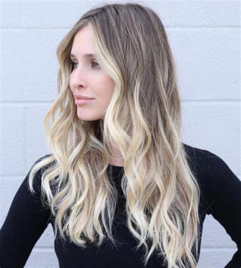 cute long blonde hairstyles