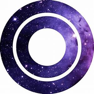 """The Letter O - Space"" Stickers by Mike Gallard Redbubble"