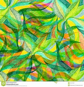 Abstract Color Pencil Draw Background Stock Image - Image ...