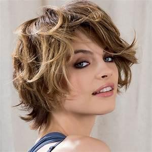 Cheveux Court Bouclé Femme : coupe cheveux courts boucl s femme sararachelbesy web ~ Louise-bijoux.com Idées de Décoration