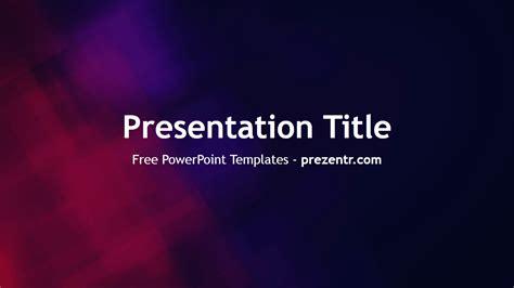 red  blue powerpoint template prezentr