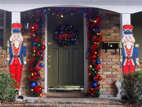 nutcracker front porch   seasonal home blog