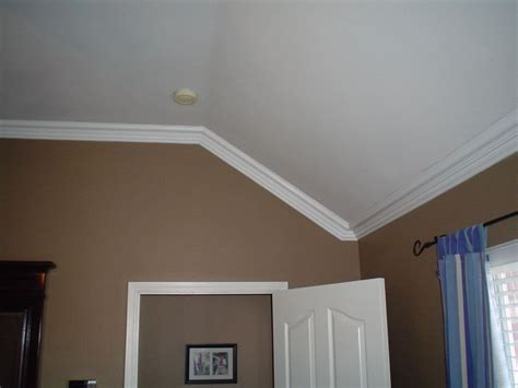 cabinet angled mold slanted crown molding chic decor