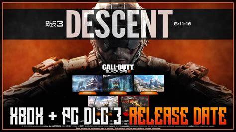dlc  descent release date  xbox  pc official