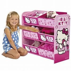 Chambre Hello Kitty : hello kitty meuble de rangement enfant achat vente commode de chambre cdiscount ~ Voncanada.com Idées de Décoration