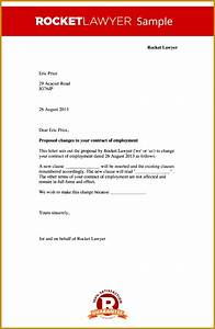 Cancellation Of Contract Letter 6 Notice Letter Change Of Name Template Fabtemplatez