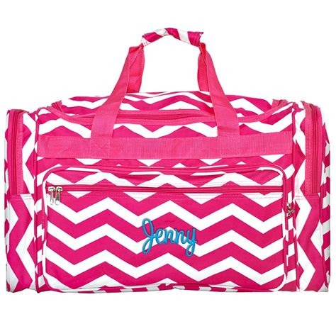 monogrammed duffle bag personalized duffel overnight bag travel bag cheer mom duffle