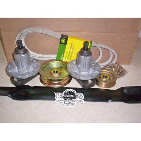 Deere L110 Mower Deck Belt Size by Deere Deck Rebuild Kit 42 Gy20995b L110 L100 L118 Ebay