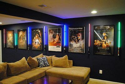 man cave home theater lighting home