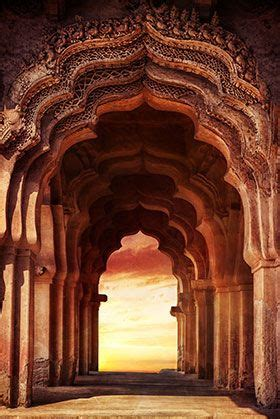 palace arches vertical wallpaper walls decor temple