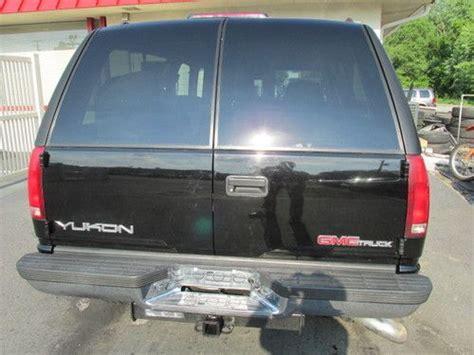buy used 1997 gmc yukon slt sport utility 2 door 6 5l turbo diesel 4x4 in lebanon pennsylvania