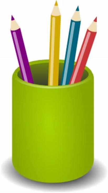 Stationary Clipart Transparent Pen Paper Crayon Pencil